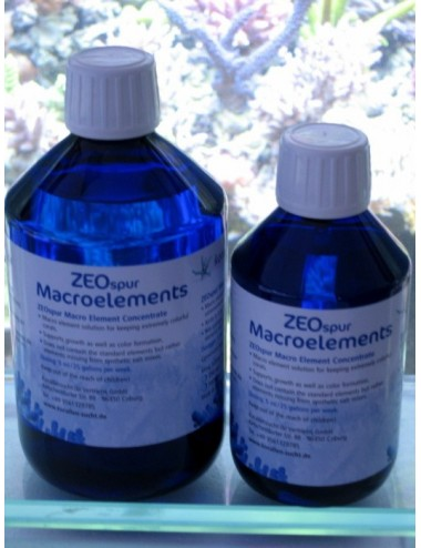 KORALLEN-ZUCHT ZEOspur Macro-éléments Concentré 500ml