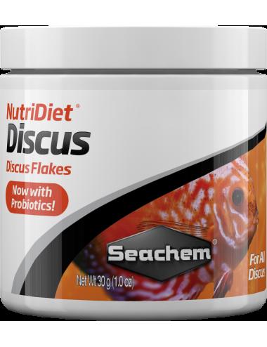 SEACHEM - NutriDiet Discus Flakes 30gr - Aliments prémium pour discus