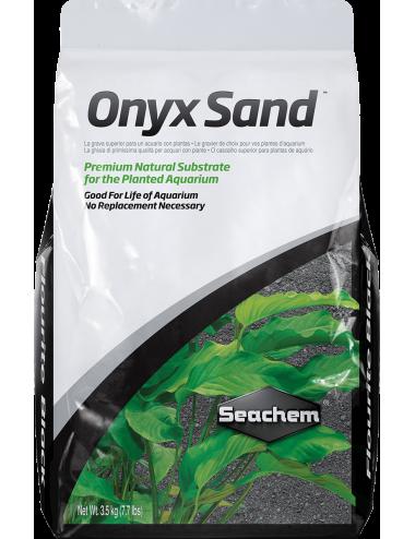 SEACHEM - Onyx Sand 3.5kg - Sol complet pour aquarium planté