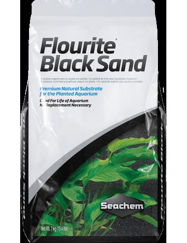 SEACHEM - Flourite Black Sand 7kg - Substrat pour aquarium planté