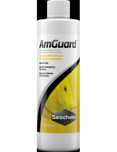SEACHEM - Amguard 250ml - Conditionneur d'eau anti-ammoniac