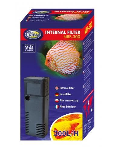 AQUA NOVA - NBF-300 - Filtre interne pour aquarium