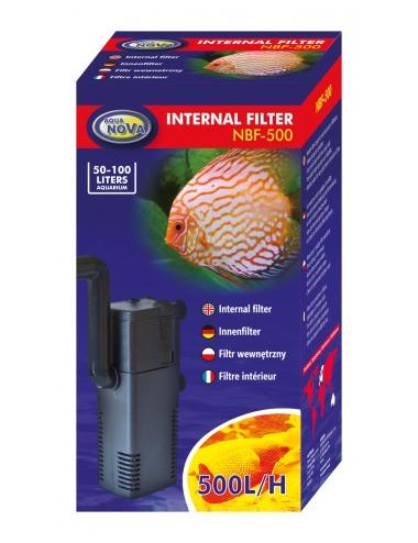 AQUA NOVA - NBF-500 - Filtre interne pour aquarium