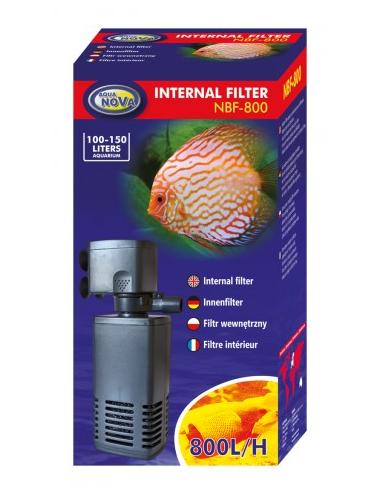 AQUA NOVA - NBF-800 - Filtre interne pour aquarium