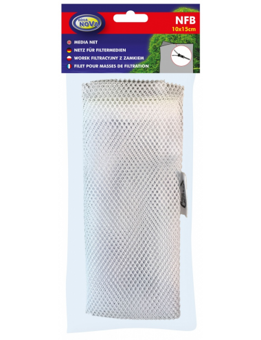 AQUA NOVA - filet pour masse filtrante - 10x15 cm