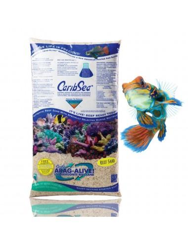 CARIBSEA Arag-Alive Spécial grade reef 9.07kg