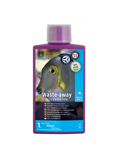 AQUARIUMS SYSTEMS - Waste-Away 250ml - Élimination des phosphates et nitrates