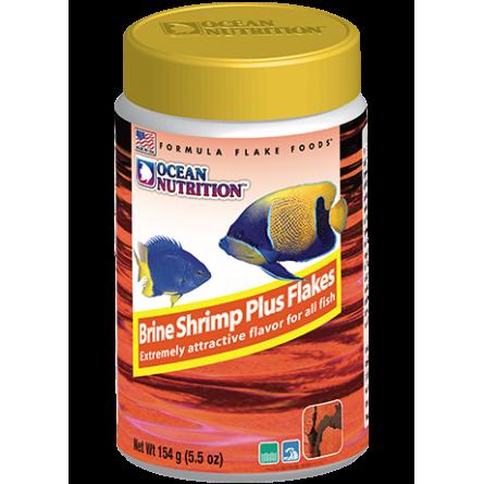 OCEAN NUTRITIONS - Brine Shrimp Plus Flakes 156g - Flocons d'artémias