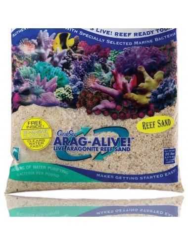 CARIBSEA Arag-Alive Fiji Pink - 9 07 kg