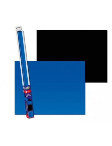 AQUA NOVA - Poster de fond Noir/Bleu - 150x60cm