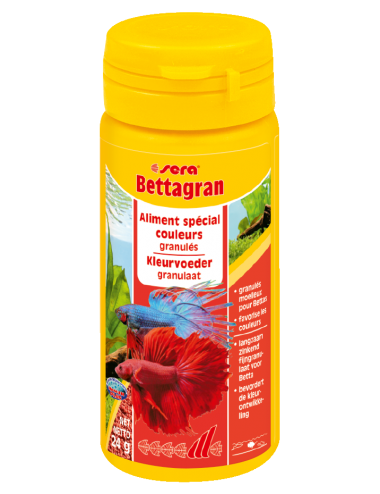 SERA - Bettagran 50ml - Aliment pour bettas