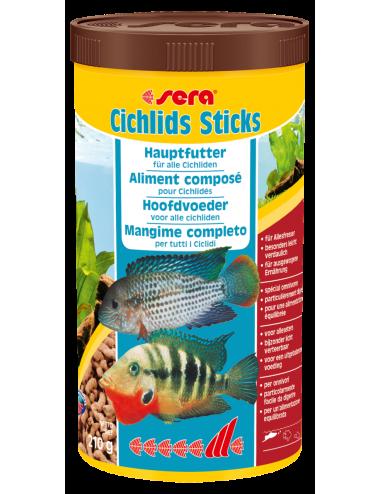 SERA - Cichlids Sticks 1000ml - Aliment complet pour les Cichlidés