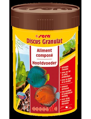 SERA - Discus Granulat 100ml - Aliment composé pour tous les Discus