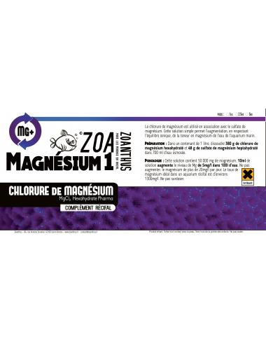 Etiquettes Magnésium