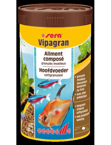 SERA - Vipagran 250ml - Aliment composé à base de granulés moelleux