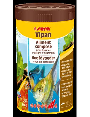 SERA - Vipan 100ml - Aliment composé pour tous les poissons d'ornement