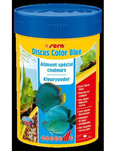 SERA - Discus Color Blue 100ml - Aliment spécial couleurs pour les Discus bleuâtres