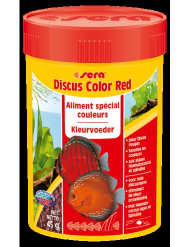 SERA - Discus Color Red 100ml - Aliment spécial couleurs pour les Discus rougeâtres