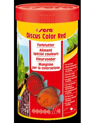 SERA - Discus Color Red 250ml - Aliment spécial couleurs pour les Discus rougeâtres