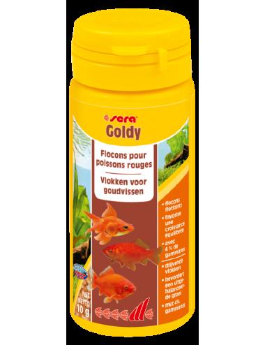 SERA - Goldy 50ml - Aliment pour poissons rouges et poissons d'eau froide