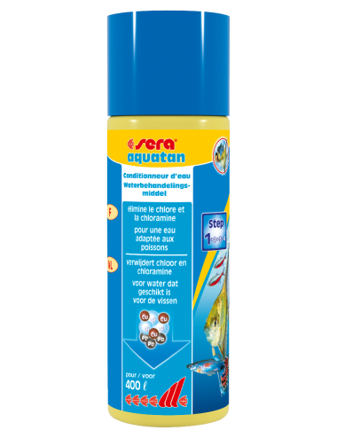 SERA - Aquatan 100ml - Conditionneur d'eau