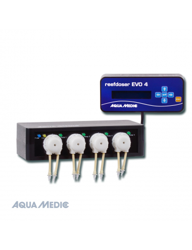 AQUA-MEDIC - ReefDoser EVO 4 - Pompe doseuse 4 canaux + contrôleur
