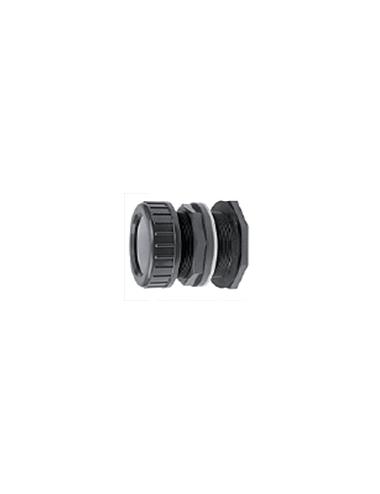 Passe paroi avec écrous de blocage diamètre 32mm à coller.