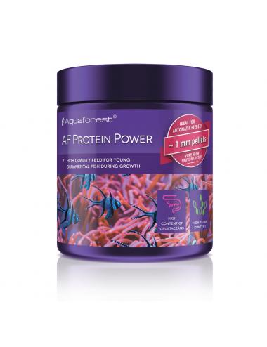 AQUAFOREST - AF Protein Power - 120g - Nourriture granulés taille S pour jeunes poissons