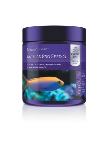 AQUAFOREST - Anthias Pro Feed S - 120g - Nourriture granulés pour poissons