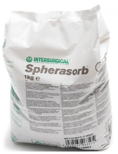 INTERSURGICAL - Spherasorb - 1kg - Absorbants de Dioxyde de Carbone