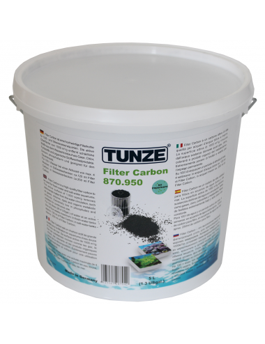 TUNZE - Filter Carbon 0870.950 - 5 Ltr. - Charbon super-actif garanti sans phosphate
