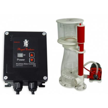 ROYAL EXCLUSIV - Bubble King® Double Cone 180 + RD3 Speedy - Écumeur pour jusqu'à 500 litres
