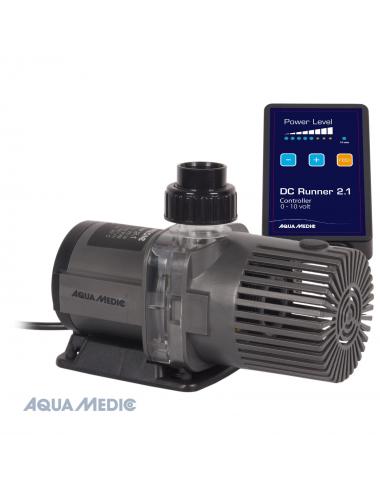 AQUA-MEDIC - DC Runner 2.1 - Pompe universelle avec Contrôleur - 2000 L/H