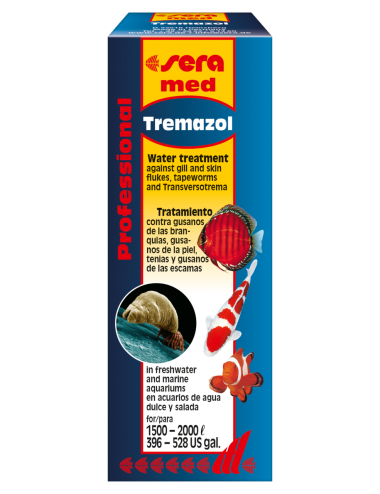 SERA - sera med Professional Tremazol - 100ml - Traitements pour poissons