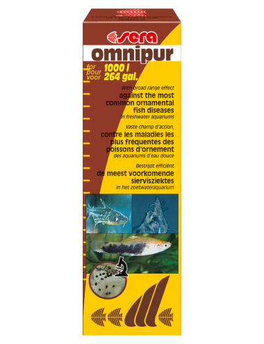 SERA - Omnipur - 50ml - Traitements pour poissons