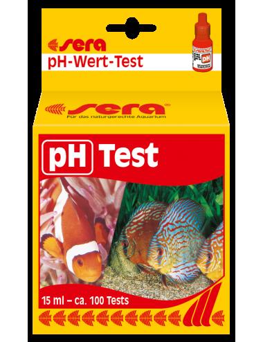 SERA - Test Ph - Pour déterminer facilement le ph de l'eau