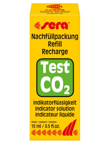 SERA - Test CO2 - Recharge indicateur liquide