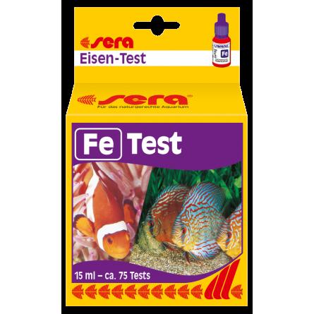 SERA - Test Fer - Analyse du fer en aquarium