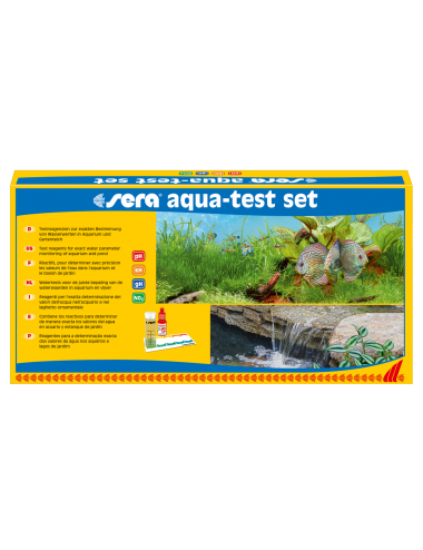 SERA - Aqua-test set - Kit des principaux tests d'aquarium
