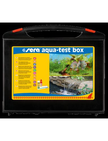 SERA - Aqua-test Box (+ cuivre) - Mallette de tests complète