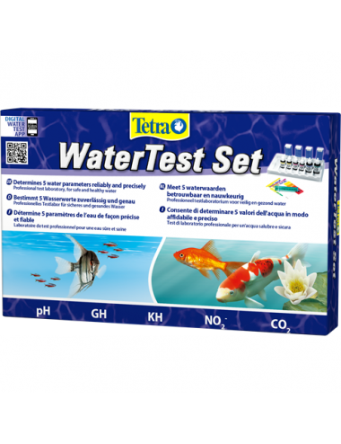 TETRA - WaterTest Set - Kit de tests principaux