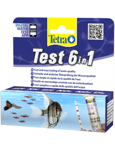 TETRA - Test 6in1 - Bandelettes de tests rapide