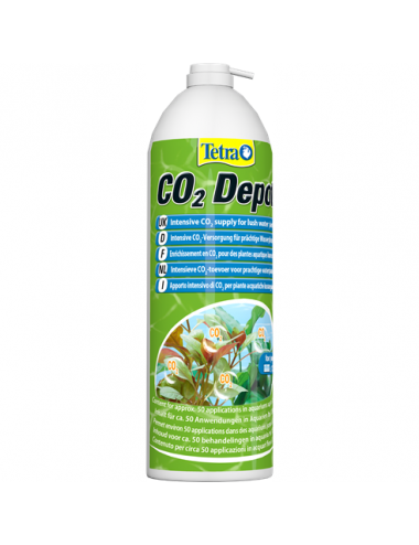 TETRA - CO2 Depot - 650ml - Recharge de CO2 pour kit Tetra CO2 Optimat