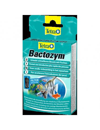 TETRA - Bactozym - 10 gélules - Bactéries pour aquarium