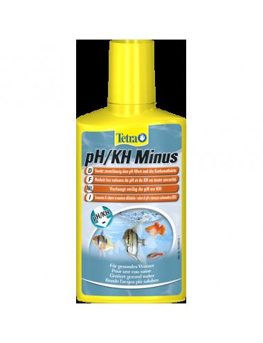 TETRA - pH/KH Minus - 250ml - Réduction du pH et Kh de l'eau