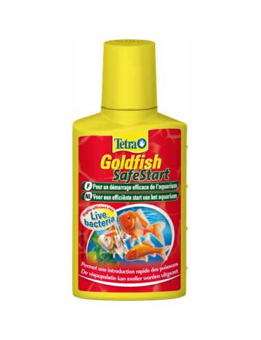 TETRA - Goldfish SafeStart - 50ml - Conditionneur d'eau bactérien