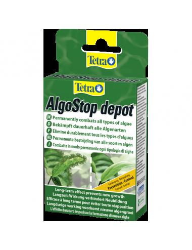 TETRA - AlgoStop depot - 12 tablettes - Anti-algues pour aquarium