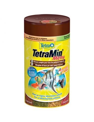 TETRA - TetraMin Menu - 250ml - Aliments en flocons pour poissons