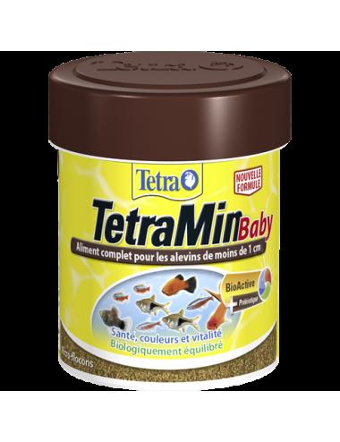 TETRA - TetraMin Baby - 66ml - Aliments en poudre pour alvins
