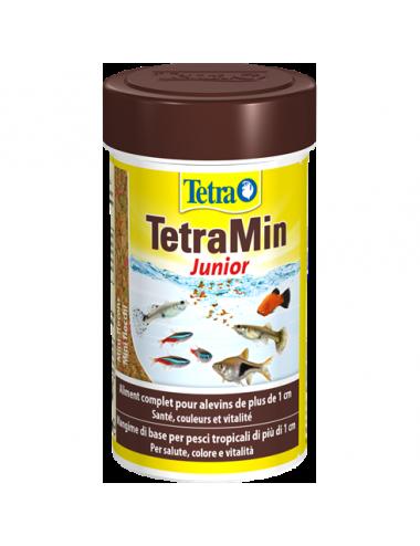 TETRA - TetraMin Junior - 100ml - Aliments en flocons pour alvins